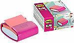 Post-it Super Sticky Z-Notes Dispenser PRO Fuchsia Kleur met één blok Z-Notes Roze van 90 Vellen