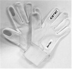 Icetec | Snijvaste Schaatshandschoenen - Wit - M