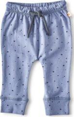 Little Label - baby - broekje - blauw, sterretjes - maat 68 - bio-katoen