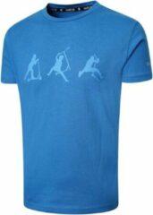 Dare 2b T-shirt Kids' Go Beyond Junior Katoen Blauw Maat 176