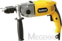 Toolland TM81007 Klopboormachine 1100W – Semiprofessioneel (incl. koffer)