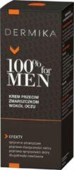 DERMIKA 100% for Men Eye Cream krem przeciw zmarszczkom wokół oczu 15ml