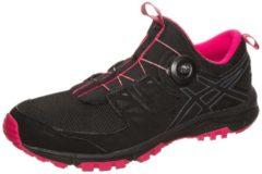 Rosa Gel-FujiRado Trail Laufschuh Damen Asics black / carbon / cosmo pink