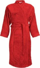 Classic Collection I2T Badjas badstof zonder Capuchon - Rood - S/M - 340 gr/m²