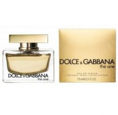 D&G DOLCE GABBANA THE ONE DONNA EDP VAPO 75 ML