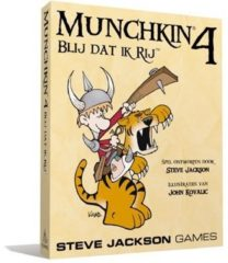 Steve Jackson Games Munchkin 4 - The Need For Steed - Uitbreiding - Engelstalig kaartspel