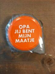 Oranje Deco Holland Rolmaat - Opa jij bent mijn maatje - 5M - Kado