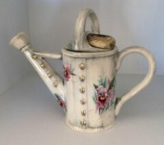 The TeaPottery Ceramic Inspirations Tea Pottery Watering Can 1 Cup Teapot