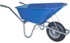 Kruiwagenwinkel.nl Kruiwagen verzinkt 100 liter blauw - Binnenband