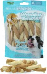 Wonder Snaxx Twists - Hondensnacks - Pinda's Banaan 16 cm
