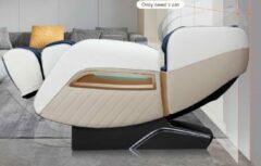 Bruine TotalSeat Elektrische massagestoel SL-A305 - Relaxstoel - Loungestoel - Ontspanningsstoel - Massagefauteuil - 5 massage programma's - Je Eigen Masseur thuis - Massage in elke Ligstand - Rugverwarming - Kuitmassage - Nekmassage