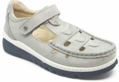 Licht-grijze Wolky Dames Sandaal Byte 0485411-206 Lichtgrijs - Maat 40