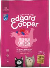 Edgard & Cooper Verse scharrelkip, scharreleend en MSC-witvis Brok - Voor kittens - Kattenvoer - 300g