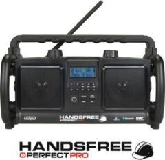 PerfectPro Handsfree Baustellenradio/Outdoorradio mit DAB+ und Bluetooth