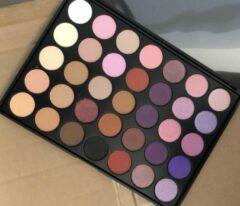 Paarse Mvr cosmetics Eyeshadow Palette Pinkishpurple | 35 kleuren