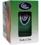 CureTape® Classic groen 5 cm x 5 m, 1 rol – kinesiotape - fysiotape