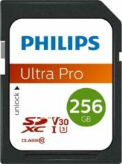 Philips FM25SD65B - SDXC kaart 256GB - Class 10 - UHS-I U3