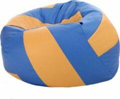 Sportzitzak Let's Lounge Zitzak Volleybal Blauw/Oranje