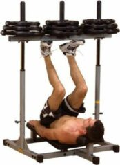 Grijze Vertical Leg Press Powerline PVLP156X