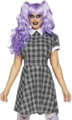 Zwarte Leg Avenue LEG-AVENUE - Luxe babydoll kostuum voor vrouwen - S - Volwassenen kostuums