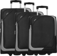 D&n D & n Travel Line 7200 2-Rollen Kofferset 3tlg. 72 cm