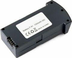 Zwarte Trendtrading Drone accu voor Eachine E520S en JD22S - 7.4V 1200MAH 25C LiPo-batterij