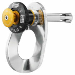 Petzl - Removable Anchor Pulse - Rotshaak maat 8 mm, grijs/zwart