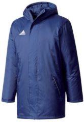 Stadionjacke Core 15 mit Windschurtz M35325 adidas dark blue/white2
