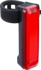 Zwarte BBB Cycling BLS-137 - Fietsverlichting Signal - Achterlicht - 50 Lumen LED - USB oplaadbaar