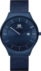 Blauwe Danish Design watches edelstalen herenhorloge Långeland All Blue Large IQ69Q1259