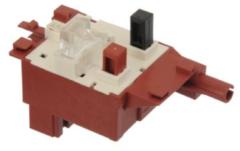 Balay, Bosch, Siemens Tastenschalter 2-fach (Haupt-mit Fensteröffner) für Waschmaschine 154079