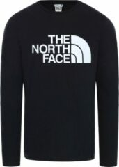 Zwarte The North Face - M L/S HALF DOME TEE - TNF BLACK - Mannen - Maat S