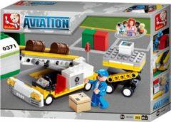 Sluban Bouwstenen Aviation Vliegtuig Bagagelader Bouwstenen Aviation Vliegtuig Bagagelader
