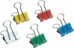 5Star Double clip in models from 19 mm Assorted, Pack of 12 Pieces (925176)