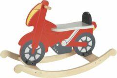 Goki hobbelfiguur Rocking Motor junior rood 52 x 78 cm