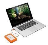 LaCie Rugged USB-C - Festplatte - 1 TB - USB 3.1 Gen 1