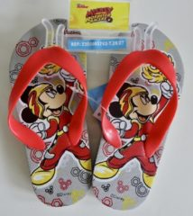 Disney Grijze teenslippers van Mickey Mouse maat 26/27