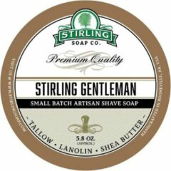 Stirling Soap Co. scheercrème Stirling Gentleman 165ml