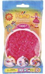 Hama beads Hama strijkkralen - fluor roze - 1000-delig