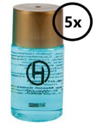 Transparante Hygostar Shampoo - mini reisverpakking wegwerp 25ml flesje met schroefdop 5st. (hotel, reis, B&B, wellness)