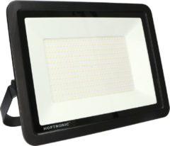 Zwarte HOFTRONIC™ LED Breedstraler - Schijnwerper - Bouwlamp - 200 Watt - 6400K - IP65 - Osram LEDs - 16.000 Lumen
