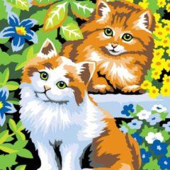 Sequin Art Schilderen Op Nummer Kittens