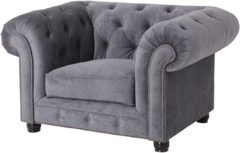 Max Winzer® Chesterfield Sessel »Old England«, mit edler Knopfheftung