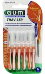 Gum Trav-ler Ragers - Interdentale Borstels 0.9mm Oranje