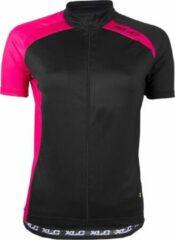 XLC Sport Shirt - Fietsshirt - Dames - Korte Mouw - Maat L - Zwart/Roze