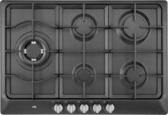 ETNA KG775ZTA - Inbouw Gaskookplaat - Zwart