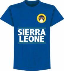 Merkloos / Sans marque Sierra Leone Team T-Shirt - Blauw - XXXXL