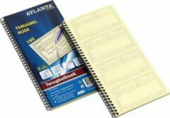 ATLANTA Terugbelboek in Tweevoud, Nederlandstalig, 160 Notities, 297 × 140 mm (pak 5 x 20 vel)