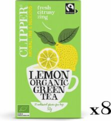 Clipper Organic groen Tea Lemon - 8 x 20 zakjes
