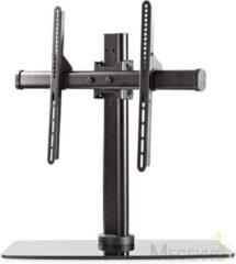 Zwarte Nedis premium tafelstandaard voor schermen tot 65 inch / full motion (1 draaipunt)